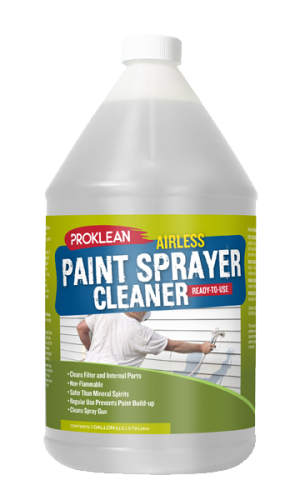 airless sprayer parts cleaner