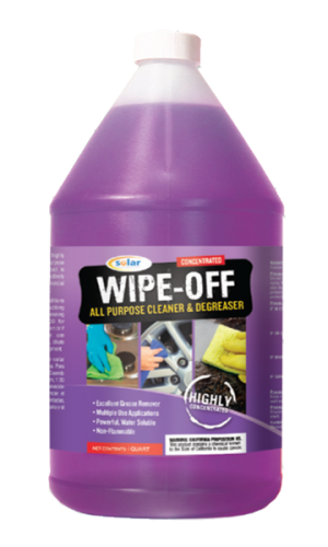 Wipe Off - All purpose cleaner degreaser