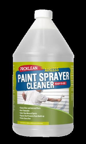 airless sprayer parts cleaner